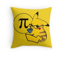 Pi-kachu v2.1(with shadows and glasses without lenses) Throw Pillow