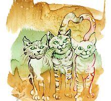 Tree Brothers by Anna Miarczynska
