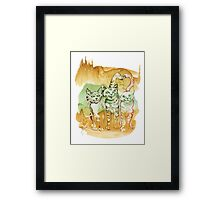 Tree Brothers Framed Print