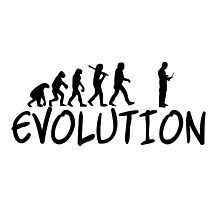 Engineer Evolution Funny Photographic Print