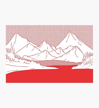The Mountains Photographic Print