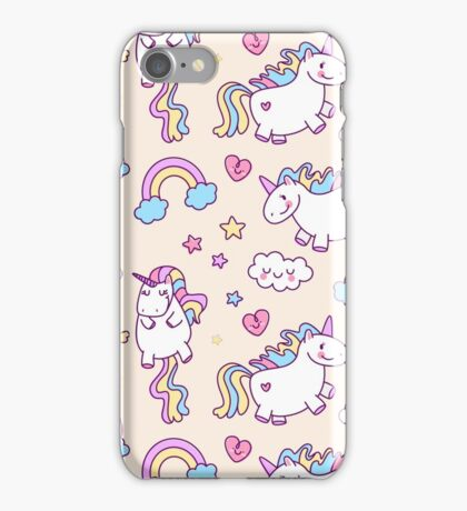 Love Unicorns iPhone Case/Skin