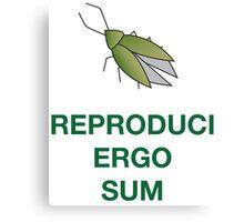 Reproduci Ergo Sum Canvas Print