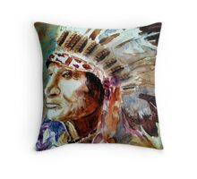 Broken arm Throw Pillow