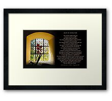 Death By Distraction Framed Print