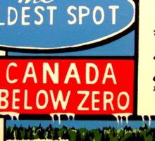 White River Ontario Canada Vintage Travel Decal  Sticker