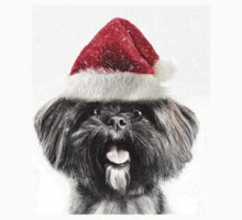 Festive Lhasa Apso One Piece - Short Sleeve