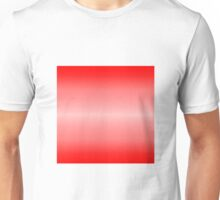 Color Gradient - Bright Red | Light Red Unisex T-Shirt