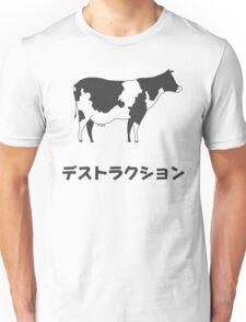 Cow – Destruction Unisex T-Shirt