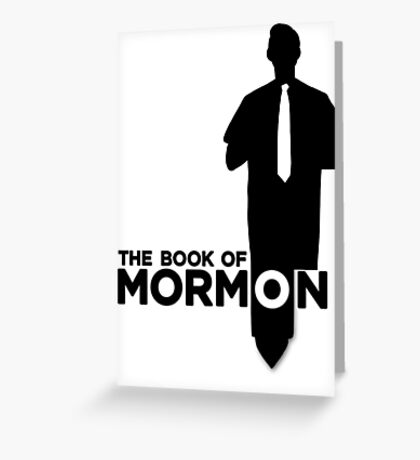 The Book of Mormon Broadway Greeting Card