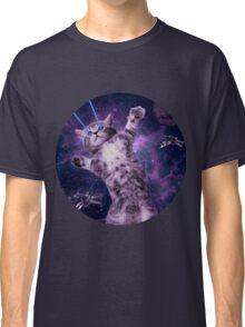 Space Cat Warrior Classic T-Shirt
