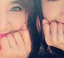yoona & yuri Sticker