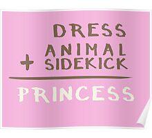 Princess Equation Poster