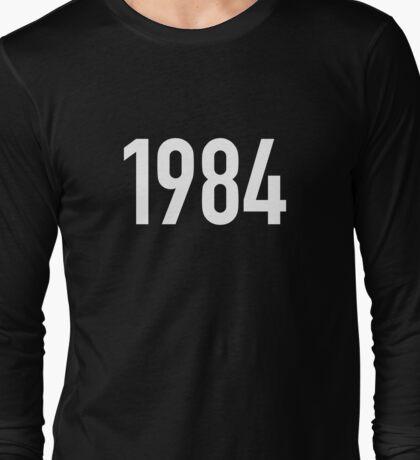 1984 T-shirt. Limited edition design! Long Sleeve T-Shirt