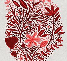 Red Garden by Cat Coquillette