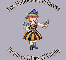 Halloween Princess by Amy-Elyse Neer