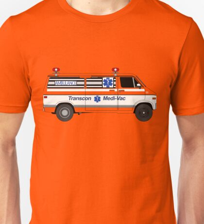 Cannonball Run - J.J. and Victor's Ambulance Unisex T-Shirt