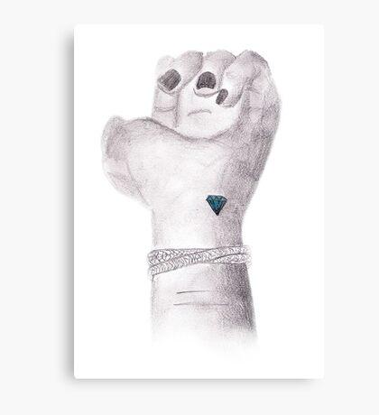 Diamond. Canvas Print