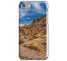 Red Rocks at Fairy Tale Canyon - Kyrgyzstan iPhone Case/Skin