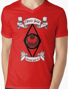 Thieves Guild Mens V-Neck T-Shirt