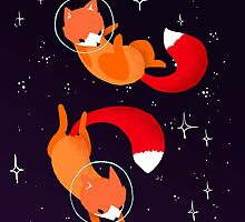 Space Foxes by Maike Vierkant