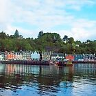 Tobermory Panorama by Chris Thaxter