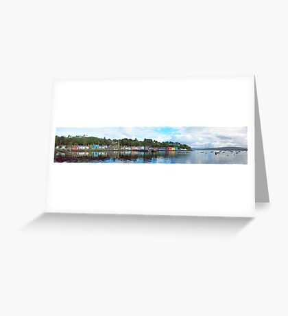 Tobermory Panorama Greeting Card