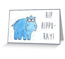 Hippo General/Greetings Card Greeting Card