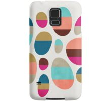 Color-Blocked Pebbles #1 Samsung Galaxy Case/Skin