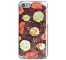 Red Beans and Rice with Vegetables iPhone Case/Skin