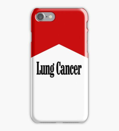 Lung Cancer iPhone Case/Skin
