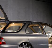 Travis Wells' Honda Accord Wagon Sticker