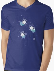 Space Bunnies Mens V-Neck T-Shirt