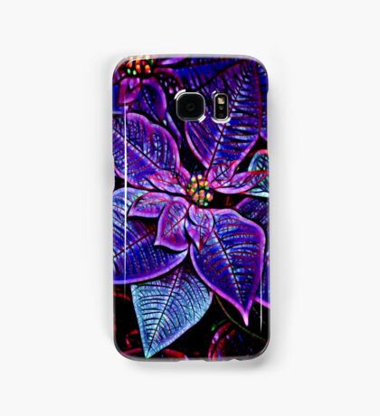 Psychedelic Poinsettia Samsung Galaxy Case/Skin
