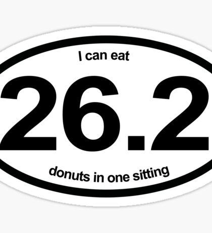 Donut Marathon Sticker