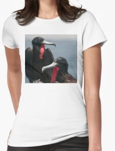 Double Take Womens Fitted T-Shirt