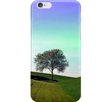 Lonely tree in the middle of nowhere | landscape photography iPhone Case/Skin