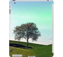 Lonely tree in the middle of nowhere | landscape photography iPad Case/Skin
