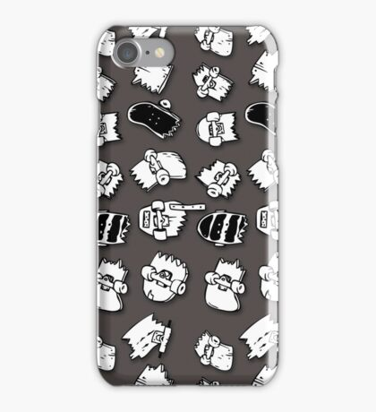 busted decks  iPhone Case/Skin