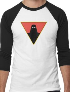Space Ghost Emblem Men's Baseball ¾ T-Shirt