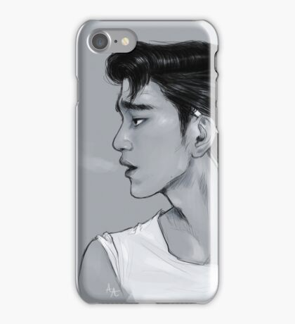 Greaser!Jinyoung iPhone Case/Skin