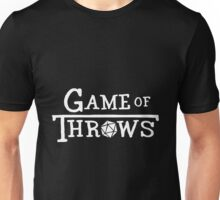 Game of Throws (white) Unisex T-Shirt