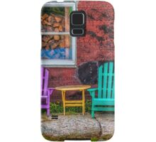 Chairs of West Dover Samsung Galaxy Case/Skin