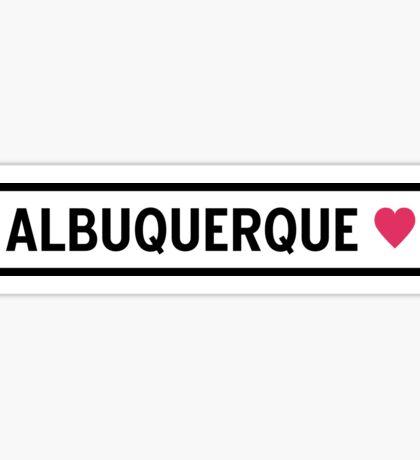 Albuquerque Sticker