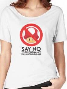 Just Say No Women's Relaxed Fit T-Shirt