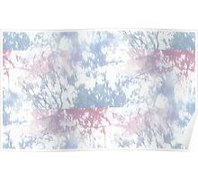 Vaporwave-Glitched Pastel Dreams Seamless Poster