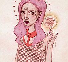 Lotus Girl by Annamaria Lützenburger