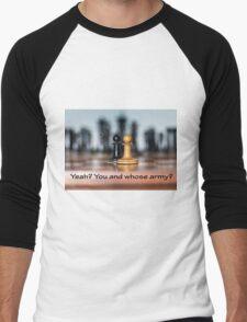 Chess battle t-shirt Men's Baseball ¾ T-Shirt