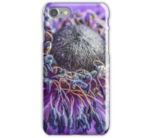 Macro Purple Flower iPhone Case/Skin