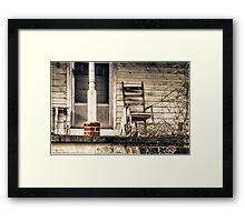 Rocking Chair Framed Print